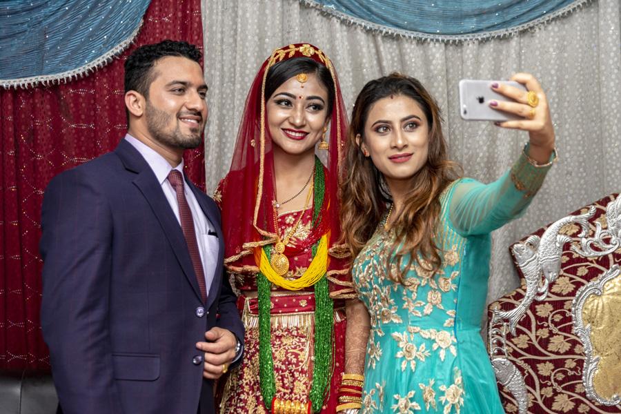marriage-group-selfie