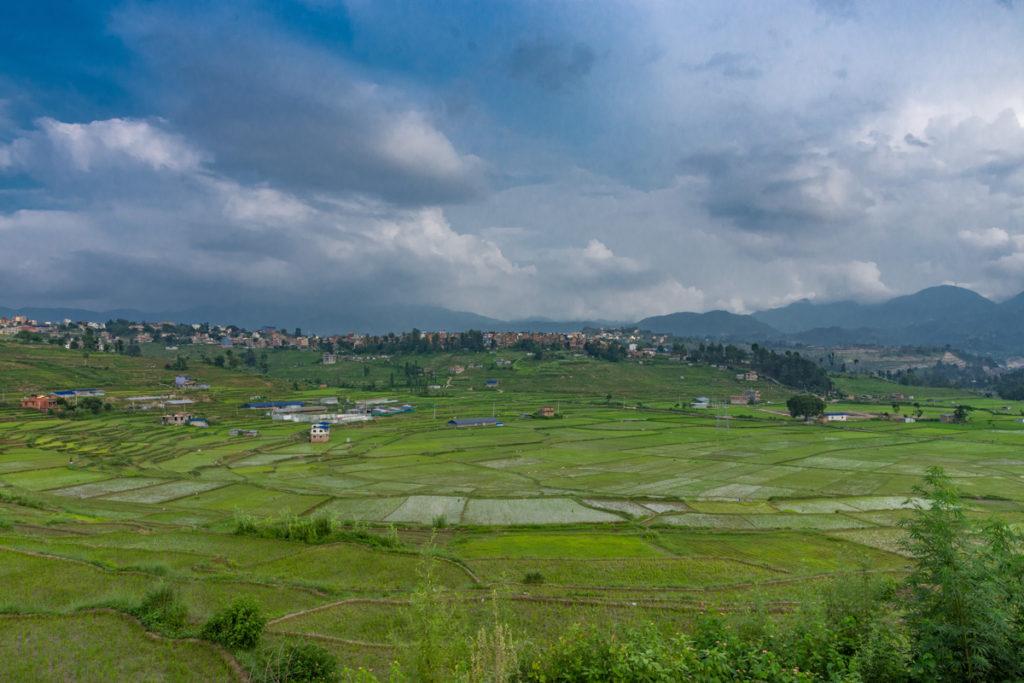 landscape view from khokhana