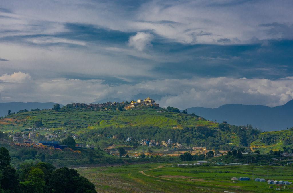 view-from-khokhana kathmandu valley
