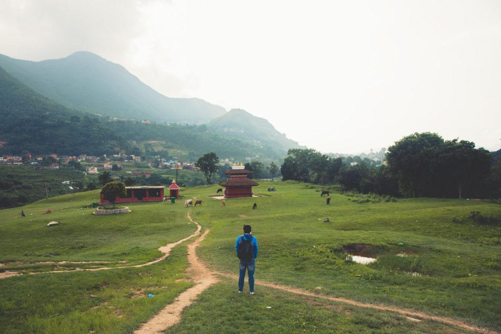 view from khokhana man standing