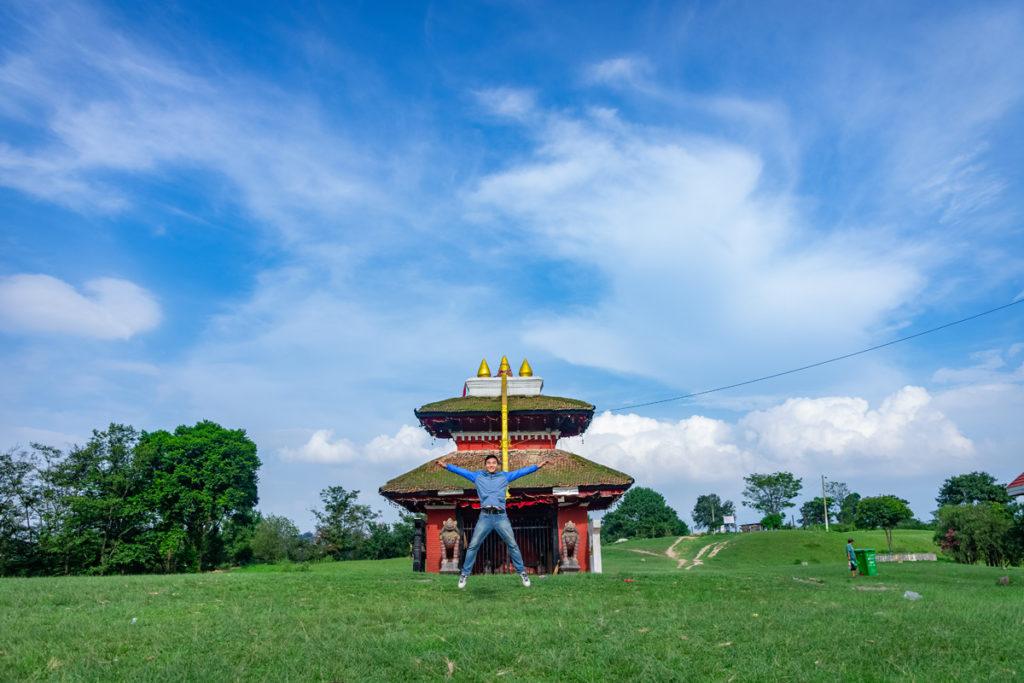 view-from-khokhana temple jump shot